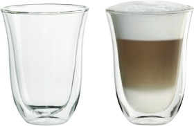 DeLonghi-Latte-Thermo-Glasses-2-Pack on sale