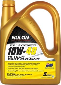 Nulon-Hi-Tech-Fast-Flowing-10W40-5LT on sale
