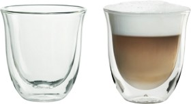 DeLonghi-Cappuccino-Thermo-Glasses-2-Pack on sale