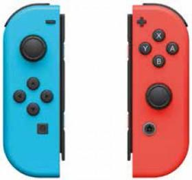 Nintendo-Switch-Joy-Con-Pair-Neon-RedBlue on sale
