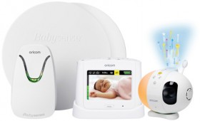 Oricom-Video-Audio-Monitor-and-Babysense7-Bundle-BS7SC870WH on sale