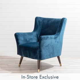 Ivy-Navy-Chair-by-MUSE on sale