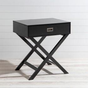 Braxton-Black-Side-Table-by-Habitat on sale
