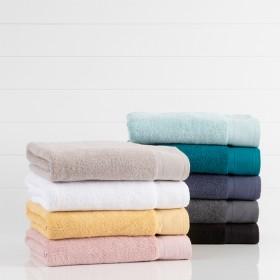 Lotus-Towel-Range-by-Habitat on sale