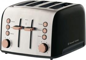 Russell-Hobbs-Brooklyn-4-Slice-Toaster-Copper on sale