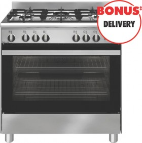 Emilia-80cm-Gas-Upright-Cooker-Stainless-Steel on sale