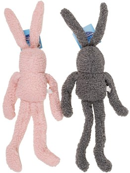 NEW-Tails-Woolly-Rabbit-Dog-Toy-Assorted on sale