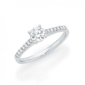 14ct-White-Gold-Lab-Grown-Diamond-Engagement-Ring on sale