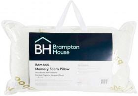 Brampton-House-Bamboo-Memory-Foam-Pillow on sale