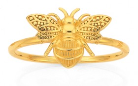 9ct-Gold-Bumble-Bee-Dress-Ring on sale