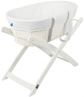 Childcare-Moses-Basket-and-Stand on sale