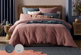 Koo-Sadie-Stone-Washed-Quilted-Quilt-Cover-Set on sale