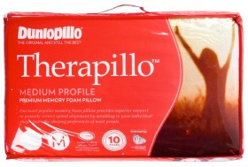 40-off-Dunlopillo-Therapillo-Medium-Profile-Premium-Memory-Foam-Pillow on sale