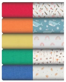 Plain-Print-Cotton-Jersey-by-the-Metre on sale