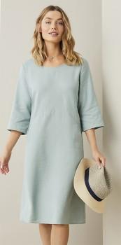 Capture-Linen-Blend-Dress on sale