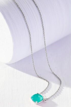 Fairfax-Roberts-Real-Gemstone-Cushion-Necklace on sale