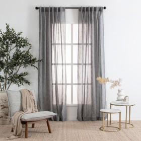 Marina-Sheer-Shadow-Curtain-Pair-by-Habitat on sale