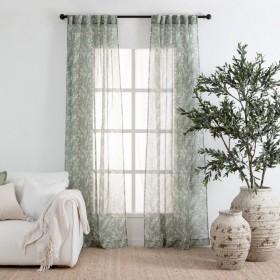 Finola-Printed-Sheer-Curtain-Pair-by-Habitat on sale