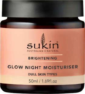 Sukin-Brightening-Glow-Night-Moisturiser-50mL on sale