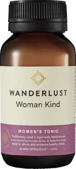 NEW-Wanderlust-Woman-Kind-60-Hard-Capsules on sale