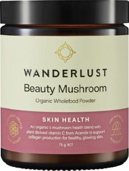 NEW-Wanderlust-Beauty-Mushroom-75g on sale