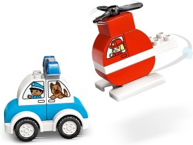 LEGO-Duplo-Creative-Play-Fire-Helicopter-Police-Car-10957 on sale