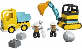 LEGO-Duplo-Town-Truck-Tracked-Excavator-10931 on sale