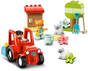 LEGO-Duplo-Town-Farm-Tractor-Animal-Care-10950 on sale