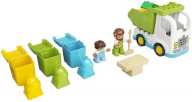 LEGO-Duplo-Town-Garbage-Truck-and-Recycling-10945 on sale