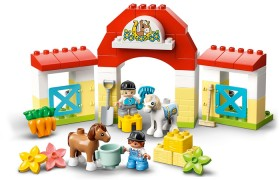LEGO-Duplo-Town-Horse-Stable-and-Pony-Care-10951 on sale
