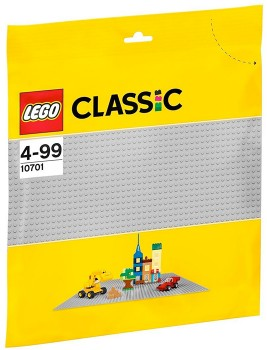 LEGO-Classic-Grey-Baseplate-10701 on sale