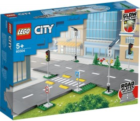 LEGO-City-Town-Road-Plates-60304 on sale