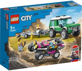 LEGO-City-Great-Vehicles-Race-Buggy-Transporter-60288 on sale