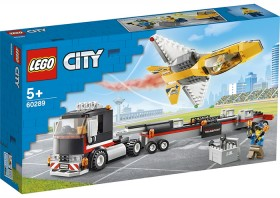 LEGO-City-Great-Vehicles-Airshow-Jet-Transporter-60289 on sale