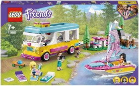 LEGO-Friends-Forest-Camper-Van-and-Sailboat-41681 on sale