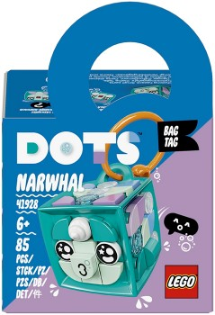 LEGO-Dots-Bag-Tag-Narwhal-41928 on sale
