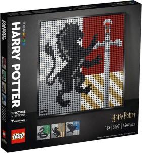 LEGO-Art-Harry-Potter-Hogwarts-Crests-31201 on sale