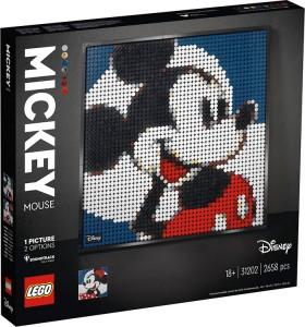 LEGO-Art-Disneys-Mickey-Mouse-31202 on sale