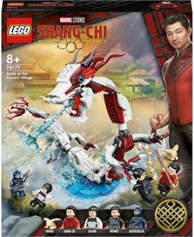 LEGO-Marvel-Super-Heroes-Battle-at-the-Ancient-Village-76177 on sale
