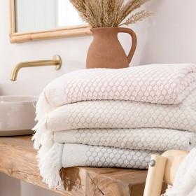 Malia-Towel-Range-by-The-Cotton-Company on sale