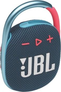 JBL-Clip-4-Bluetooth-Speaker-Blue-Pink on sale