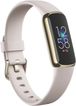 Fitbit-Luxe-Lunar-WhiteSoft-Gold on sale