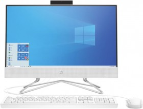 HP-215-8GB-256GB-SSD-All-in-One-Snow-White on sale