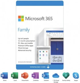 Microsoft-365-Family-12-Months-ESD on sale