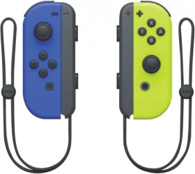 Nintendo-Switch-Joy-Con-Pair-BlueNeon-Yellow on sale
