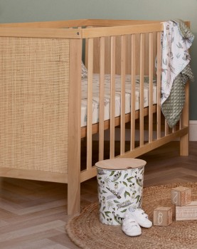 NEW-Childcare-Rattan-Cot on sale