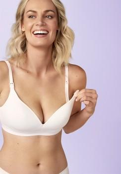 Bonds-Wirefree-Contour-Cotton-Maternity-Bra on sale