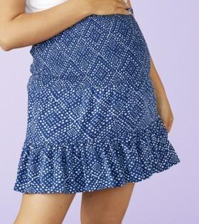 Brilliant-Basics-Maternity-Shirred-Skirt on sale