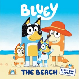 Bluey-The-Beach-A-Lift-the-Flap-Book on sale