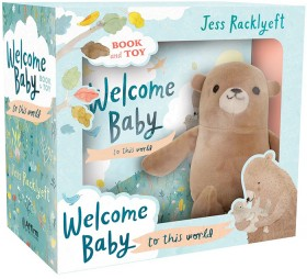 NEW-Welcome-Baby-Book-Toy-Set on sale